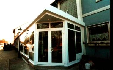 berdachungen f r industrie handwerk und handel. Black Bedroom Furniture Sets. Home Design Ideas